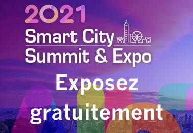 Exposez gratuitement sur Smart City Summit & Expo