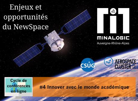 Enjeux et opportunités du Newspace – Conférence N°4 : Innover avec le monde académique