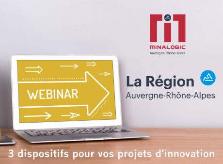 """R&D Booster - PIA régionalisé Auvergne-Rhône-Alpes """"Filière"""" et """"Innovation"""" : 3 dispositifs pour vos projets d'innovation"""