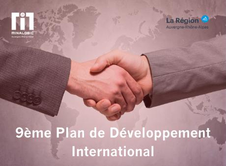 Minalogic dévoile son 9ème Plan de Développement International