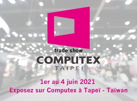 Exposez sur le pavillon France à Computex / InnoVEX
