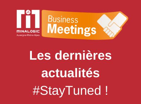 Minalogic Business Meetings 2021 : les dernières news !