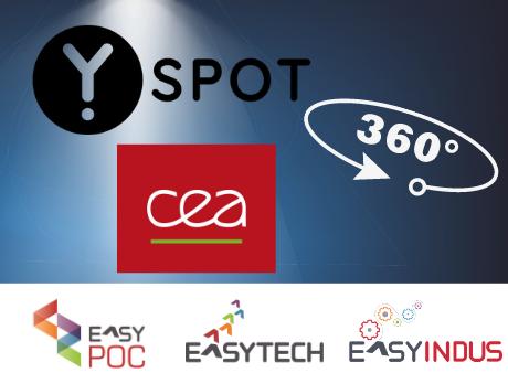 """Visite virtuelle du Showroom Yspot et présentation des dispositifs """"Easy"""""""