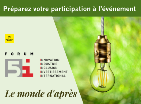 Forum 5i : préparez votre participation