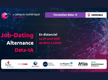 Job-Dating Alternance Data-IA du Campus Numérique in the Alps de Grenoble