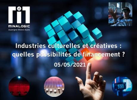 Industries culturelles et créatives : quelles possibilités de financement ?
