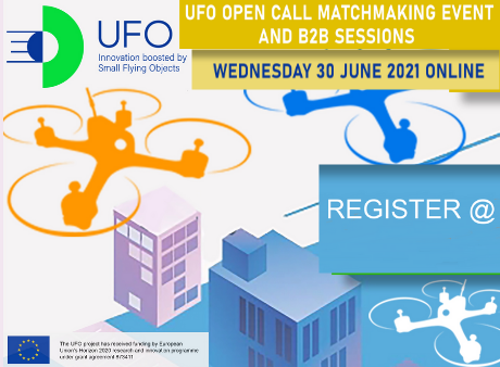 UFO project Open Call matchmaking and B2B Sessions