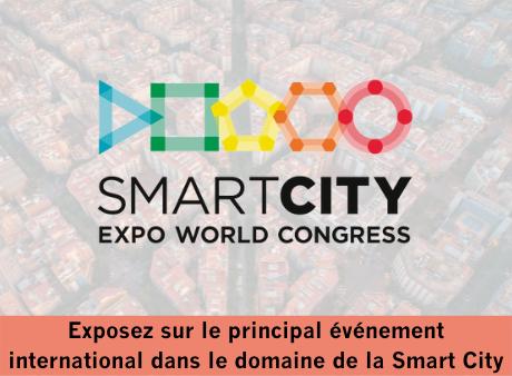 Exposez au Smart City Expo World Congress