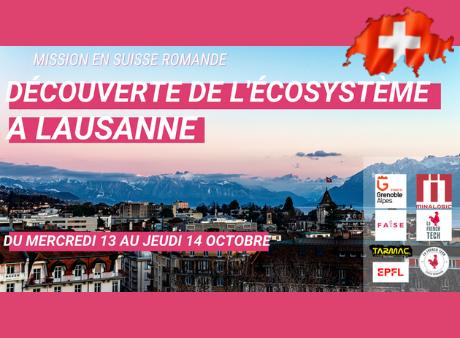 Découverte de l'écosystème à Lausanne