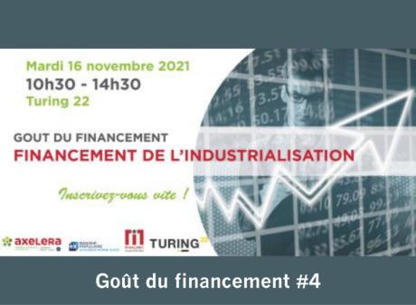 Goût du financement #4 : le financement de l'industrialisation