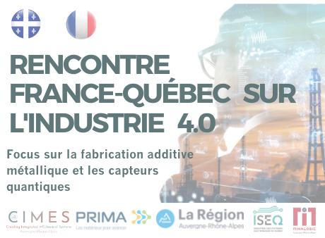 Rencontre France-Québec sur l'Industrie 4.0